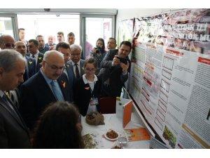 Aydın'da yetenekli öğrenciler projelerini sergiledi