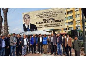 Merhum Alparslan Türkeş ölümünün 22. yılında Nazilli'de de anıldı