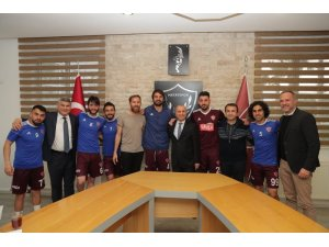 Vali Doğan'dan Hataysporlu futbolculara prim