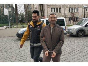 Havalimanında yakalanan FETÖ'nün ilçe sorumlusu adliyeye sevk edildi