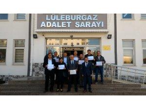 Belediye Başkanı Nalbant mazbatasını aldı