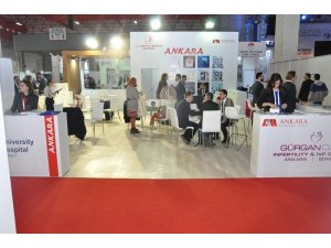 Ankara 'Dünya Sağlık, Spor ve Alternatif Turizm Fuarı'nda
