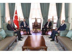 Genel Müdür Yardımcısı Serdengeçti'den Vali Soytürk'e ziyaret