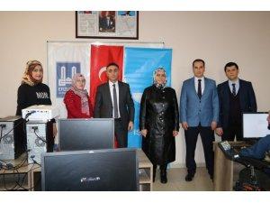 Erzurum İŞKUR'dan engellilere yönelik Bilgisayar İşletmenliği kursu
