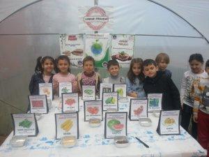 Okuldan yerli tohuma destek