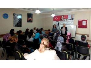 CHP'li kadınlardan üye çalışması