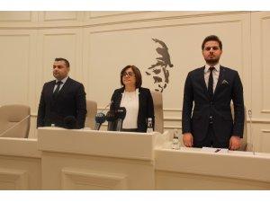 Gaziantep'te yeni dönemin ilk meclis toplantısı yapıldı