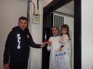 Kocaeli'de Polis teşkilatının 174. yıldönümünde polis aileleri unutulmadı