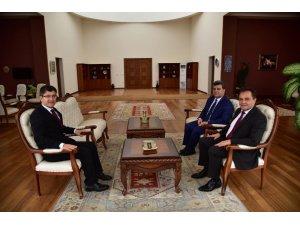 Başkan Şahin, Rektör Taş ile bir araya geldi