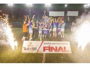 AOSB Futbol Turnuvasının Şampiyonu Kimteks
