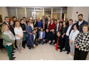 CHP ve İyi Parti'den Taşdelen'e kutlama ziyareti