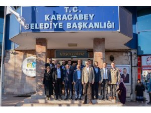 AK Parti Bursa teşkilatından Başkan Özkan'a ziyaret