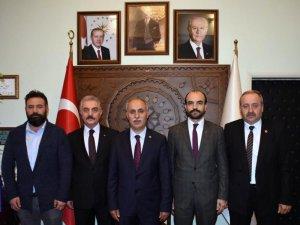"""Büyükataman: """"Yüzümüzün akıyla beklenen hizmetleri Yenişehir'imizde gerçekleştireceğiz"""""""