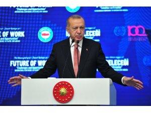 """Cumhurbaşkanı Erdoğan: """"Dönem birlik ve beraberliğimizi yeniden perçinleme dönemidir"""""""