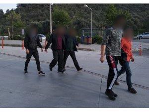 Kuşadası'nda kesinleşmiş hapis cezası olan 3 kişi yakalandı