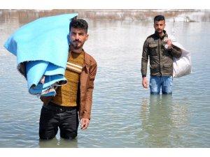 Yüksekova sular altında