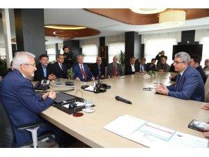 CHP yönetiminden Başkan Turgay Erdem'e ziyaret