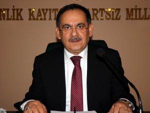 Samsun'da hüzünlü meclis
