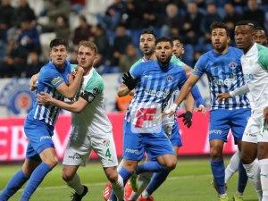 Bursaspor ateş hattından kurtulamadı: 1-1