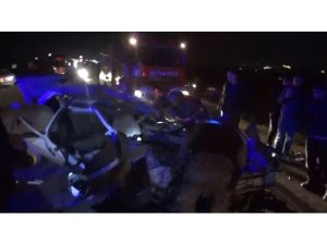 Şanlıurfa'da otomobiller çarpıştı: 9 yaralı