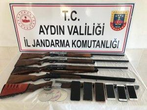 Aydın'da jandarmadan gasp çetesine operasyon: 5 gözaltı