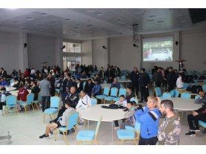 Muay Thai Milli takım seçmeleri Tatvan'da yapıldı