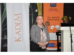 KADEM, Kırşehir'de 'Kadın Emeğinin Kooperatifleşme Yolu ile Değerlendirme' konferansı düzenledi