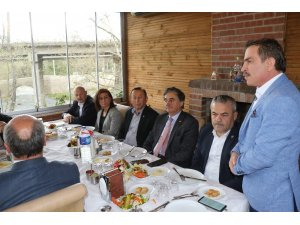 Alkışla Derneği ve Ova köyleri muhtarları milletvekilleriyle bir araya geldi