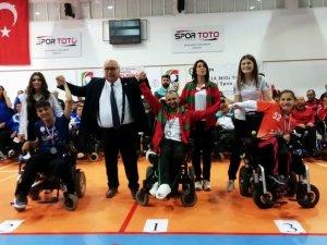 Samsunlu engelli sporcu Türkiye 2'incisi oldu