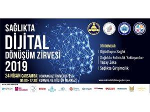 """""""Sağlıkta dijital dönüşüm zirvesi"""" 24 Nisan'da başlıyor"""