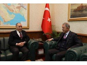 Bakan Akar, Libya Büyükelçisi Abdulkadir'i kabul etti