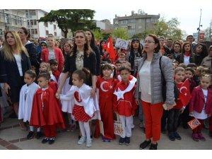 Tekirdağ'da 23 Nisan kutlamaları başladı