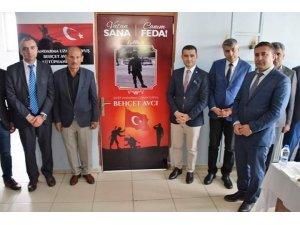 Okul kütüphanesine Şehit Jandarma Uzman Çavuş Behçet Avcı ismi verildi