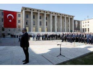 23 Nisan Ulusal Egemenlik ve Çocuk Bayramı için ilk tören TBMM'de düzenlendi