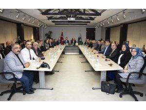 AK Parti İl Teşkilatı, Başkan Büyükkılıç'ı ziyaret etti