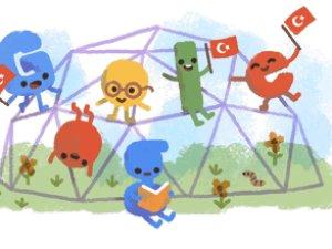 Google'dan 23 Nisan logosu