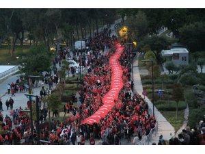 Antalya Fener alayında buluştu, Lösemi hastası Öykü Arin unutulmadı