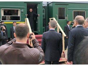 Putin ile görüşecek Kim Jung-un Rusya'da