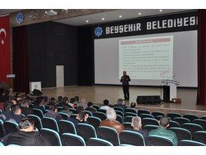 Beyşehir'de amatör denizci belgesi eğitim ve sınavı heyecanı