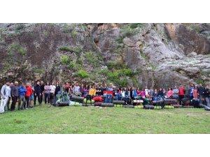 GAÜN'lü dağcılar Köklüce Kalyonu'nda