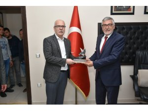 İsmail Candemir'den Başkan Bozkurt'a ziyaret
