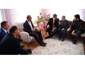 Başkan Kocaman'dan şehit ailesine ziyaret