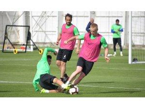 Atiker Konyaspor, Galatasaray maçının hazırlıklarını sürdürdü