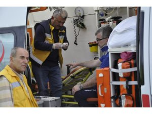 Konya'da iki ayrı kazada 4 kişi yaralandı
