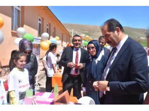 Tercan'da Bilim Fuarı açılışları gerçekleştirildi