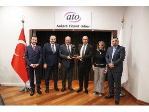 Kudüs Arap Ticaret ve Sanayi Odasından ATO'ya iş birliği teklifi