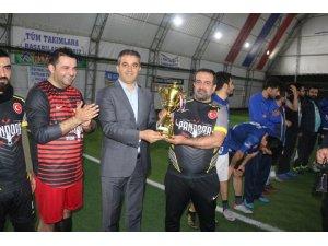 Silopi'deki futbol turnuvası sona erdi
