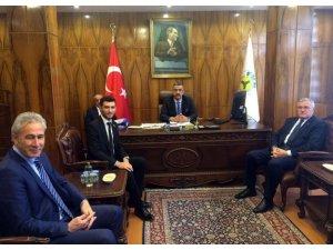 Başkan Karagöl, fındık üreticilerinin sorunlarının çözümü için temaslarda bulundu