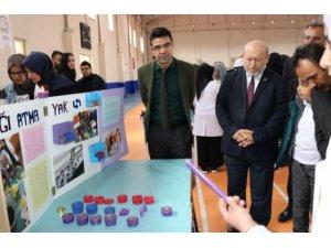 Patnos 15 Temmuz Şehitleri Anadolu İmam Hatip Lisesi  tarafından TÜBİTAK Bilim Fuarı düzenlendi