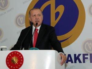 """Erdoğan: """"YSK kararı üzerinden ülkemizi hedef alanların gayesi milletimizin kazanımlarını dinamitlemektir"""""""